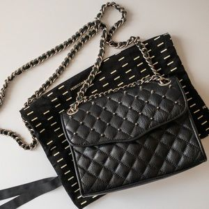 Rebecca Minkoff 'Mini Quilted Affair w Studs' Bag